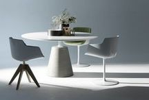 Dining Tables / Mid-century, modernist and contemporary dining tables sold at Aram Store.