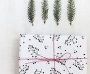 Seasonal: Gift Wrapping / Find inspirational gift wrappings for all kind of surprises & parties: birthday, christmas time, wedddings etc.