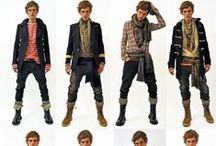 Styles - Men's Fashion & Hairstyling / by Drew It Yourself - D.I.Y.