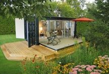 Shipping Container Homes / by Drew It Yourself - D.I.Y.