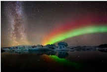Skies / Objects seen in the sky, such as: Milky Way, Nouthern Aurorae. Aurorae, Clouds, Sun, Moons, Meteor, Near Planets, Lightning or any objects seen from the Earth. / by Girly Girl