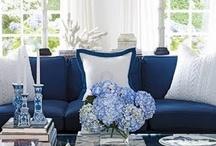 ::Design Board:: Blue and White