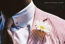 Real Men Wear Real Flowers / by Alexander Nash