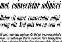 Modern Serif (Neoclassical) - Антиква нового стиля / конец 18 - начало 19 века