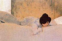 Ramon Casas / (1866 – 1932) Spanish artist.