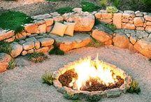 Garden - Firepits / by Drew It Yourself - D.I.Y.