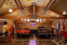 Homes - Garages / by Drew It Yourself - D.I.Y.