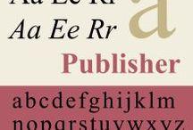 Transitional Serifs - Переходная антиква / (начало и середина XVIII века)