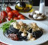 PASTA / Deliciosos platos elaborados con diferenes tipos de pasta.