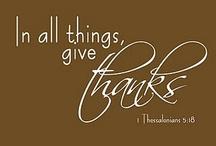 Thanksgiving  / by Kim Lawson