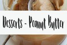 Desserts - Peanut Butter / Desserts made with peanut butter