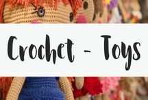 Crochet - Toys / I personally love amigurumi! This board is for all the amigurumi patterns you may need. Even better, they are all free amigurumi patterns! Make your own little crocheted animal or toy. You won't regret it!