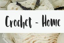 Crochet - Home / Looking for free crochet patterns? Look no further! Get free blanket crochet patterns, crochet basket patterns and all the random other stuff you can DIY for the home. Make your own DIY decor with these free patterns!