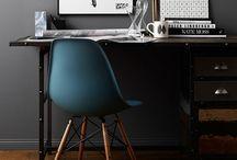 Dream Office / Home Decor Inspiration for a Dream Office.