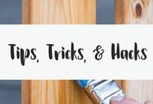 Tips, Tricks, & Hacks / The internet is full of life hacks. You could spend hours looking at tips for the home, tricks to make money go further, life hack cooking skills.