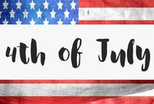 Holidays - Fourth of July / Fourth of July everything! Celebrate America the right way!  *fourth of july recipes* fourth of july party* fourth of july cake* fourth of july cupcakes*fourth of july outfits*fourth of july crafts* fourth of july diy*4th of july*merica*eagle*usa*united states*