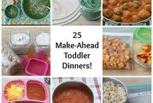 Recipes for Picky Toddlers / Recipe and food ideas for toddlers