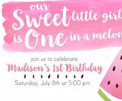 First Birthday Party Ideas / First birthday planning