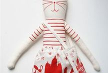 Sewing: Softies / Projects and inspiration for stuffed soft animals of all stripes and kinds.