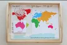 Homeschooling | Geography / Tips, tricks, and resources for teaching geography in your homeschool or elementary classroom.
