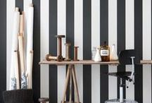 Sinful Stripes / The best stripe inspiration on Pinterest.