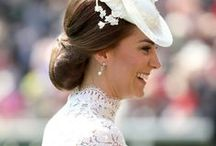 Duchess Kate & Pippa / Not only does she have an incredible wardrobe, she also has incredible taste. Kate Middleton, you are my favorite style icon!