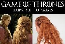 Purty hairstyles:) / braids mostly though