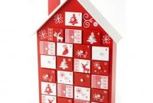 Red & White Christmas / A selection of red christmas themes and items from us at Roman at Home for the traditional Red & White Christmas Decor www.romanathome.com/christmas-shop/