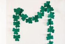 Luck 'O The Irish / Shamrocks, St. Patrick's Day, Guinness, Irish Whiskey, Clovers, Potatoes... aren't the Irish lucky indeed!