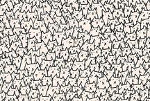Miaou Miaou / Feline artworks / by Carrie Thomas