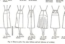 Sewing: Drafting / Tutorials, workshops, books, and sources for pattern drafting.