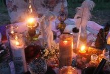 Altars & Accoutrements / I love altars... the moment an altar is erected, angels flock to tend it. These are altars and accoutrements for the Craft. BB