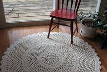 Crochet: Rugs / Crochet rug patterns and inspirations