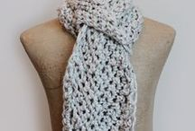 Crochet: Scarves / Crochet patterns and inspiration for scarves and cowls.