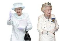 Queen 90th birthday party ideas / If you are organising a party to celebrate the 90th birthday of Queen Elizabeth II, you will want to check out our huge range of commemorative Royal Family cutouts and masks that will add that wow factor to any themed party!