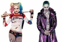 Suicide Squad Lifesize Cardboard Cutouts / Harley Quinn, The Joker and the rest of the Suicide Squad are now available in lifesize cardboard cutout form!  Great for super hero (and villain!) parties, check out the full range today!