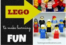 Lego Activities / a board for people who love #legolearning / by Homegrown Learners