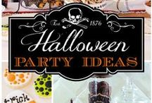 Halloween Party Ideas / Tons of Halloween party ideas!  Halloween decorations, Halloween treats, Halloween cupcakes, Halloween party favors, Halloween activities and more!  See more party ideas at CatchMyParty.com.
