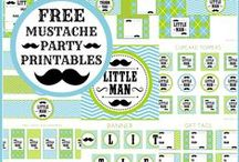 Free Printables / We have tons of free printables for any and every occasion!  Free birthday party printables, free holiday printables, free baby shower printables and lots more!  See more party ideas at CatchMyParty.com.