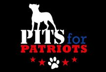 Pits for Patriots / We are a Non for Profit Organization that provides Pit Bulls as service dogs for Vets and first responders.