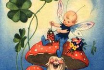 Lady Bugs & Raggedy Ann Dolls / I love lady bugs! ~Always have~ Raggedy Ann & Andy Dolls are also a favorite.