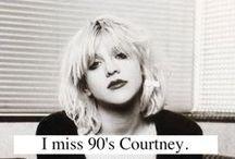 """Courtney L♥ve / """"I always lie, but never in my lyrics."""" ~Courtney Love / by Katrina Pursell"""