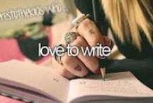 Reading & Writing / I love reading & writing. It's my passion. / by Katrina Pursell