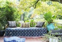 Inside-Outside Rooms & Spaces / Outdoor rooms and living spaces / by Paige E.