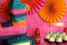 Cinco de Mayo Party Ideas / Cinco de Mayo fiesta party ideas --  cakes, decorations, party foods and favors. See more party ideas at CatchMyParty.com.
