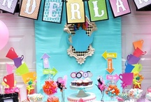 Alice in Wonderland Party Ideas / Alice in Wonderland party ideas for girl birthdays  --  Alice cakes, decorations, party foods and favors. See more party ideas at CatchMyParty.com. / by Catch My Party
