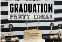 Graduation Party Ideas / Graduation party ideas --  grad cakes, decorations, party foods and favors. See more party ideas at CatchMyParty.com.