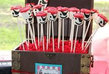 Pirate Party Ideas / Pirate party ideas for boy birthdays  --  pirate cakes, decorations, party foods and favors. See more party ideas at CatchMyParty.com. / by Catch My Party