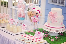 Lalaloopsy Party Ideas / Lalaloopsy party ideas for girl birthdays  --  Lalaloopsy cakes, decorations, party foods and favors. See more party ideas at CatchMyParty.com.