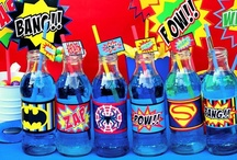Superhero Party Ideas / Superhero party ideas for birthdays  --  Superhero cakes, decorations, party foods and favors. See more party ideas at CatchMyParty.com.